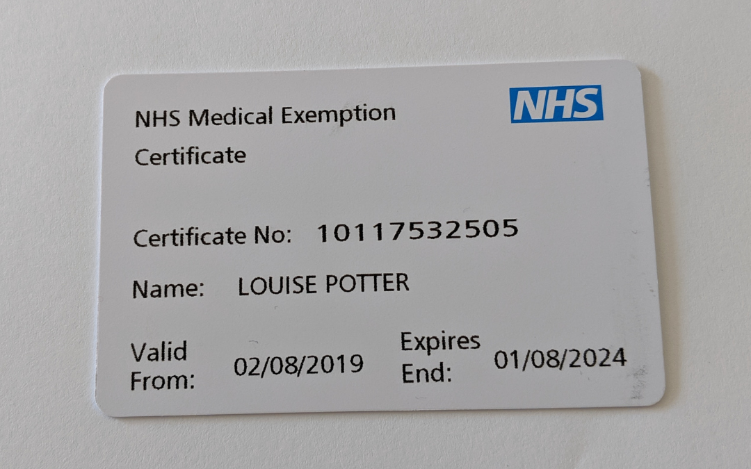 Medical Exemption Cards for Ostomates